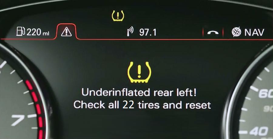 Почему теряется сигнал от датчиков давления в шинах?